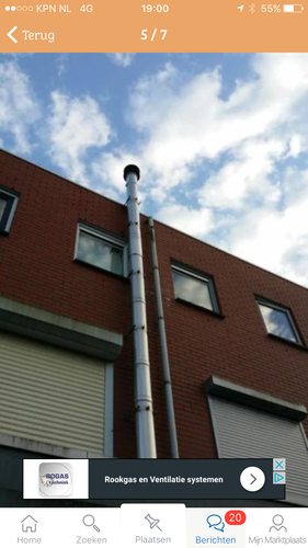 Installeren en aansluiten rookkanaal werkspot - Buitenkant thuis ...
