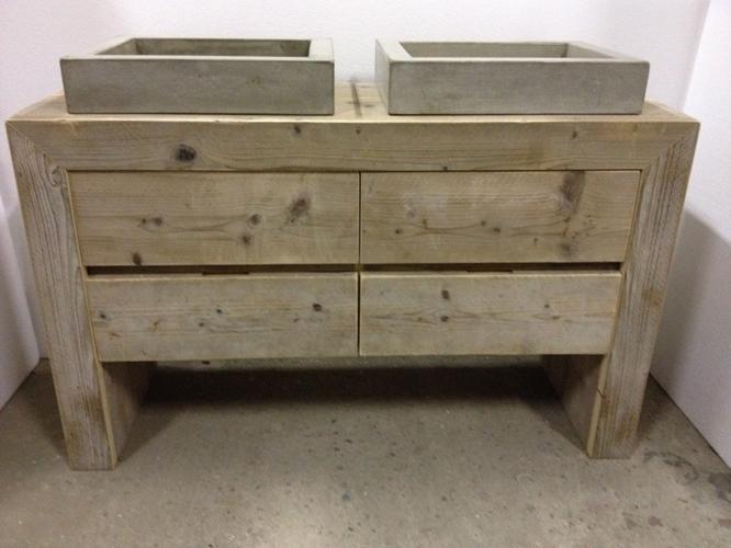badmeubel steigerhout werkspot