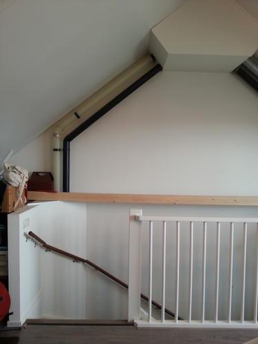 Realisatie van een kamer op zolder door afsluiting van het trapgat werkspot - Furbishing een kamer op de zolder ...