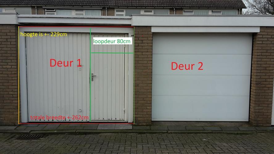 Breedte Openslaande Deuren : Openslaande deuren ongelijke delen leveren in kunststof incl