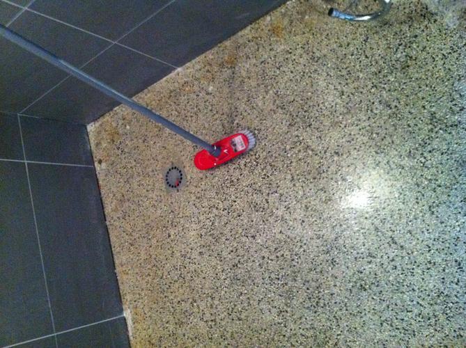 Onderhoud granieten vloer werkspot for Badkamervloer schoonmaken