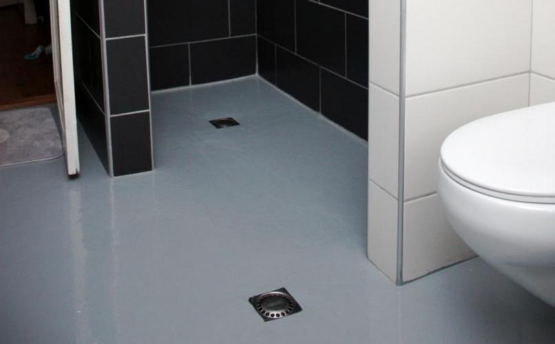 Vervangen/repareren epoxyvloer douche - Werkspot
