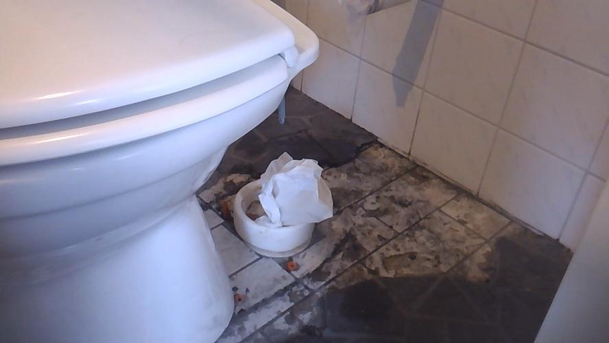 Toilet Zonder Afvoer : Wc afvoer verplaatsen