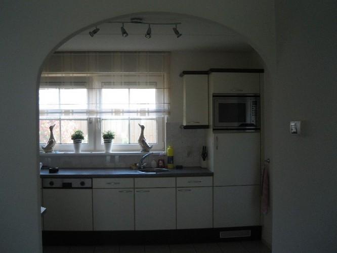 Toog maken overgang keuken woonkamer werkspot - Hoe dicht een open keuken ...