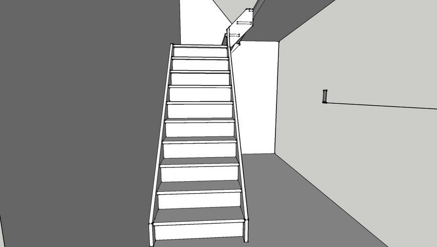 Favoriete Nieuwe trap naar 1e verdieping - Werkspot KO07