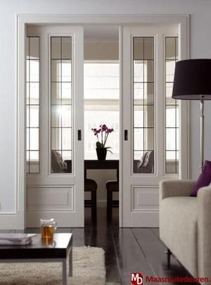 Schuifdeuren tussen woonkamer en keuken maken werkspot - Keuken en woonkamer in dezelfde kamer ...