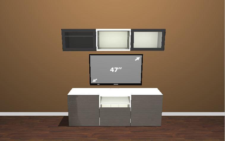 ikea besta tv meubel werkspot. Black Bedroom Furniture Sets. Home Design Ideas