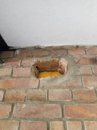 Genoeg Gat in muur repareren – Mdf lakken hoogglans GK35