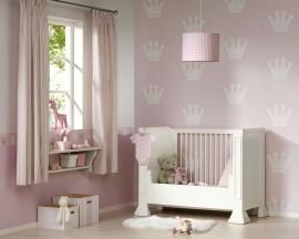 babykamer behangen - werkspot, Deco ideeën