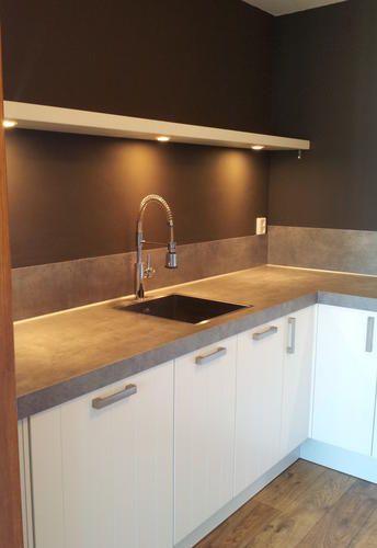 Wandplank Met Verlichting Keuken.Wandplank Met Geintegreerde Verlichting 1 20m Werkspot