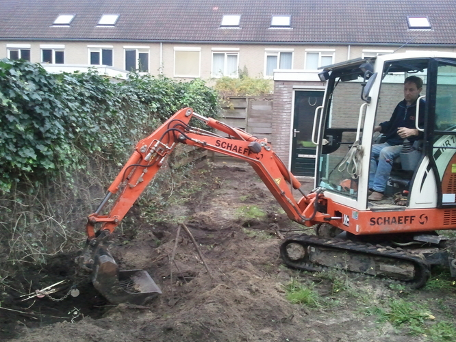 Tuin Omploegen Machine : Omploegen of omfrezen en egaliseren tuin werkspot