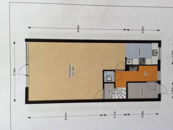 Schilderen muur woonkamer 20m2 - Werkspot