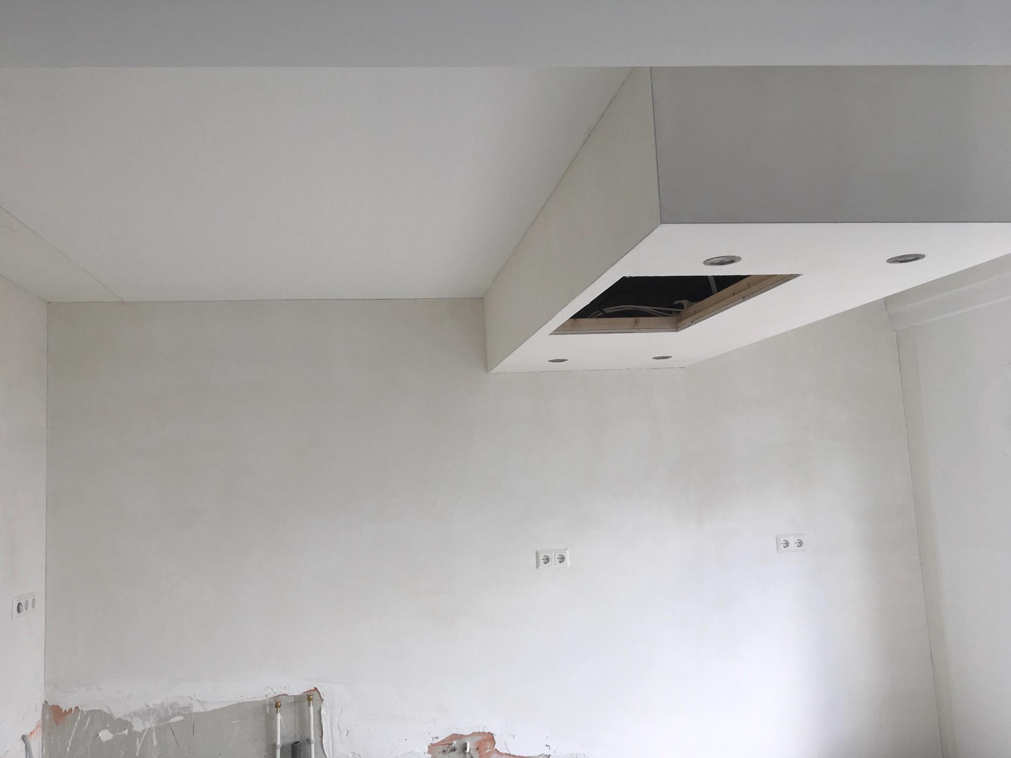 Vaak Keukenwand & plafond + koof schilderen 25m2 - Werkspot ZM03