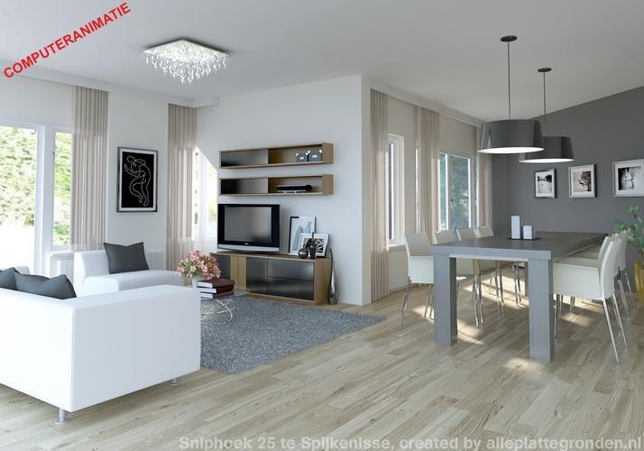 Woonkamer grijs l vormige woonkamer grijs met groen of zwart inspiratie - Woonkamer muur grijs ...