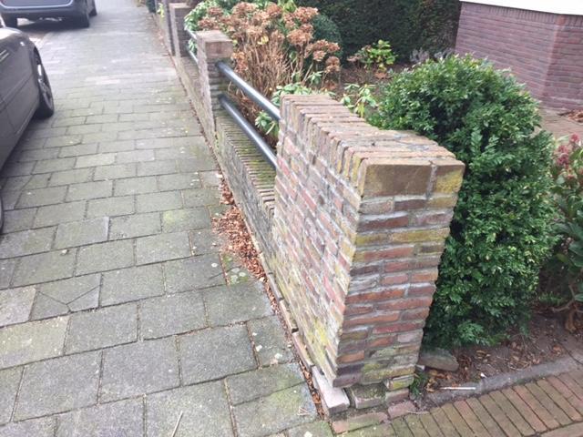 Stenen Muur Voortuin : Verzakt muurtje bij voortuin herstellen werkspot