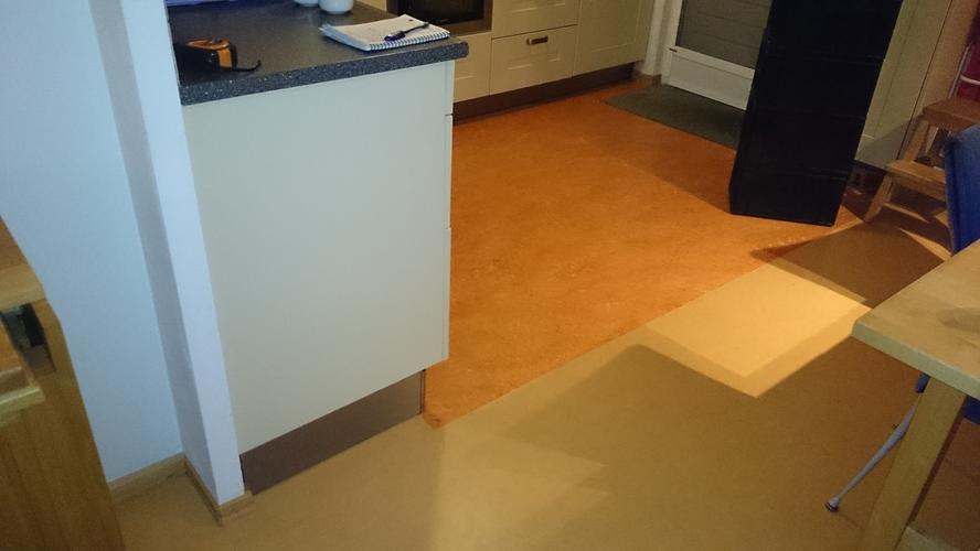 Keukenvloer vervangen marmoleum werkspot