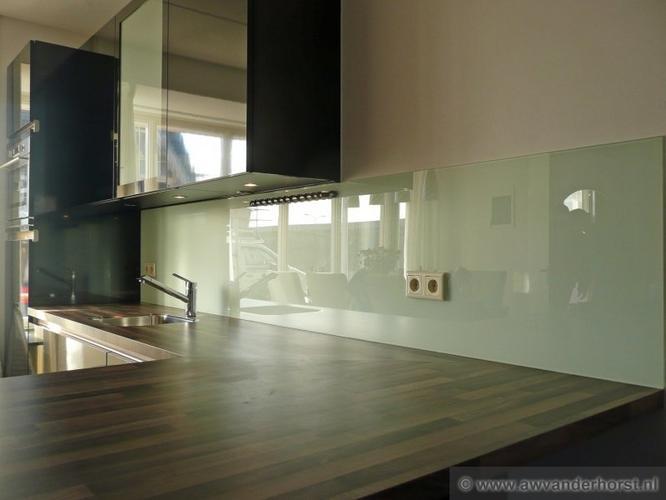 Glaswand Keuken Foto : Glaswand in keuken werkspot