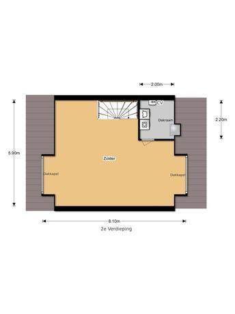 Twee aparte kamers maken op zolder werkspot - Hoe aparte een kamer in twee ...