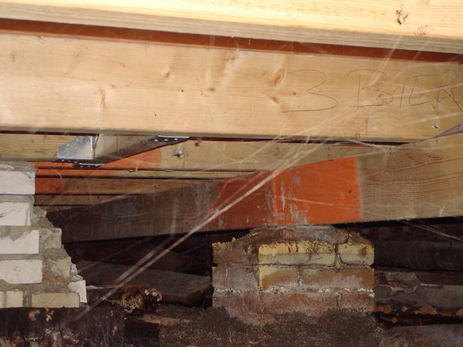 Houten Vloer Veert : Vervangen houten vloer door beton systeemvloer ± 38m² werkspot