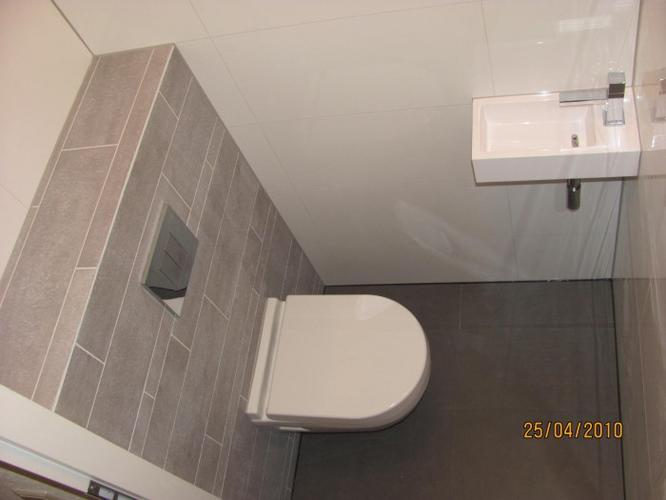 Kleine toilet opknappen 90cmb x 110cm lengte x 250 cm hoogte werkspot - Beplan kleine badkamer in lengte ...
