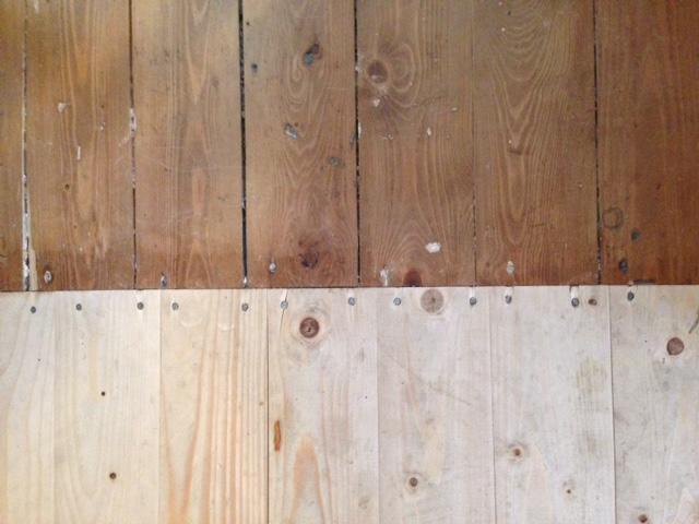 Houten Vloer Vuren : Vurenhouten vloer schuren en lakken werkspot