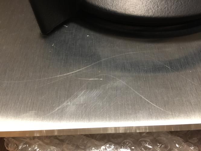 Krassen Tafel Verwijderen : Rvs krassen verwijderen