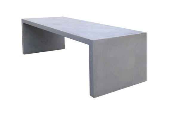 Top Betonnen Tafel. Beton gegoten. - Werkspot KO49
