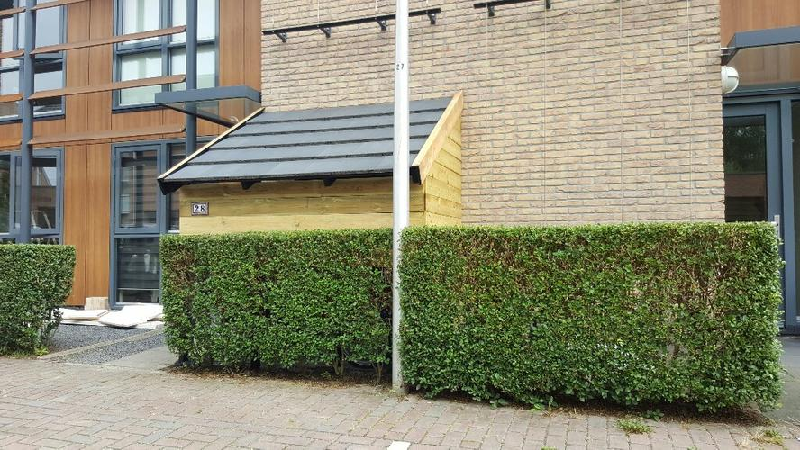 Bedwelming Fiets overkapping maken - Werkspot &IK17