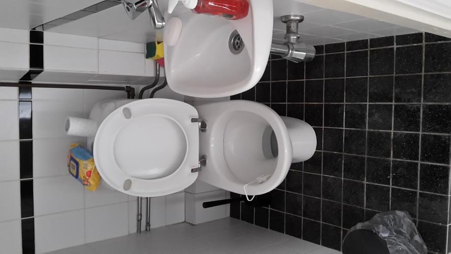 Inbouw Toilet Compleet : Complete toilet renovatie inbouwtoilet monteren nieuw tegels