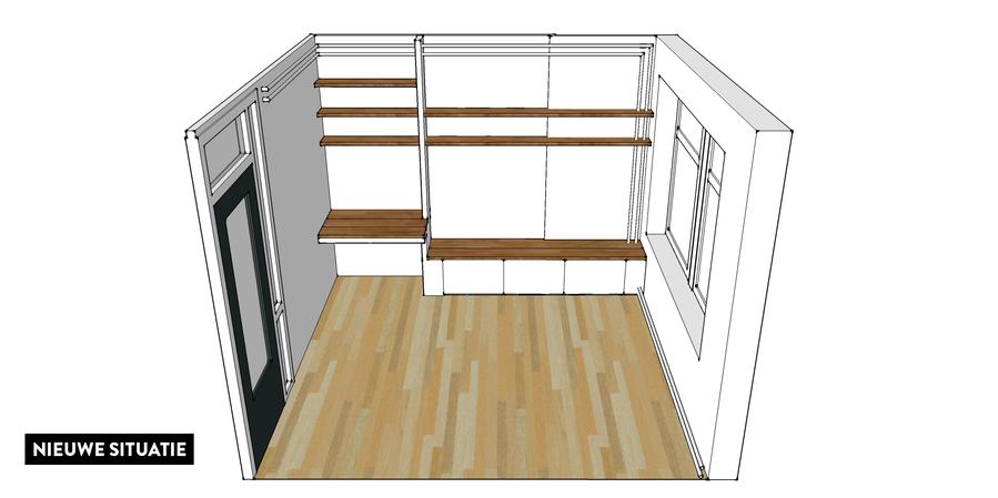 4 Inbouw Kasten Op Maat Woonkamer Slaapkamer Keuken En