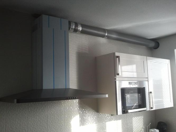 koof maken t b v luchtafvoer afzuigkap keuken werkspot