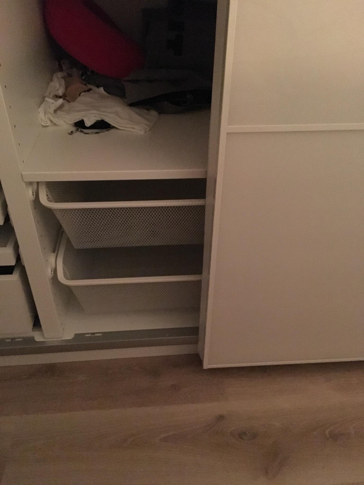 Schuifdeuren Ikea Pax Kast Opnieuw Plaatsen Werkspot
