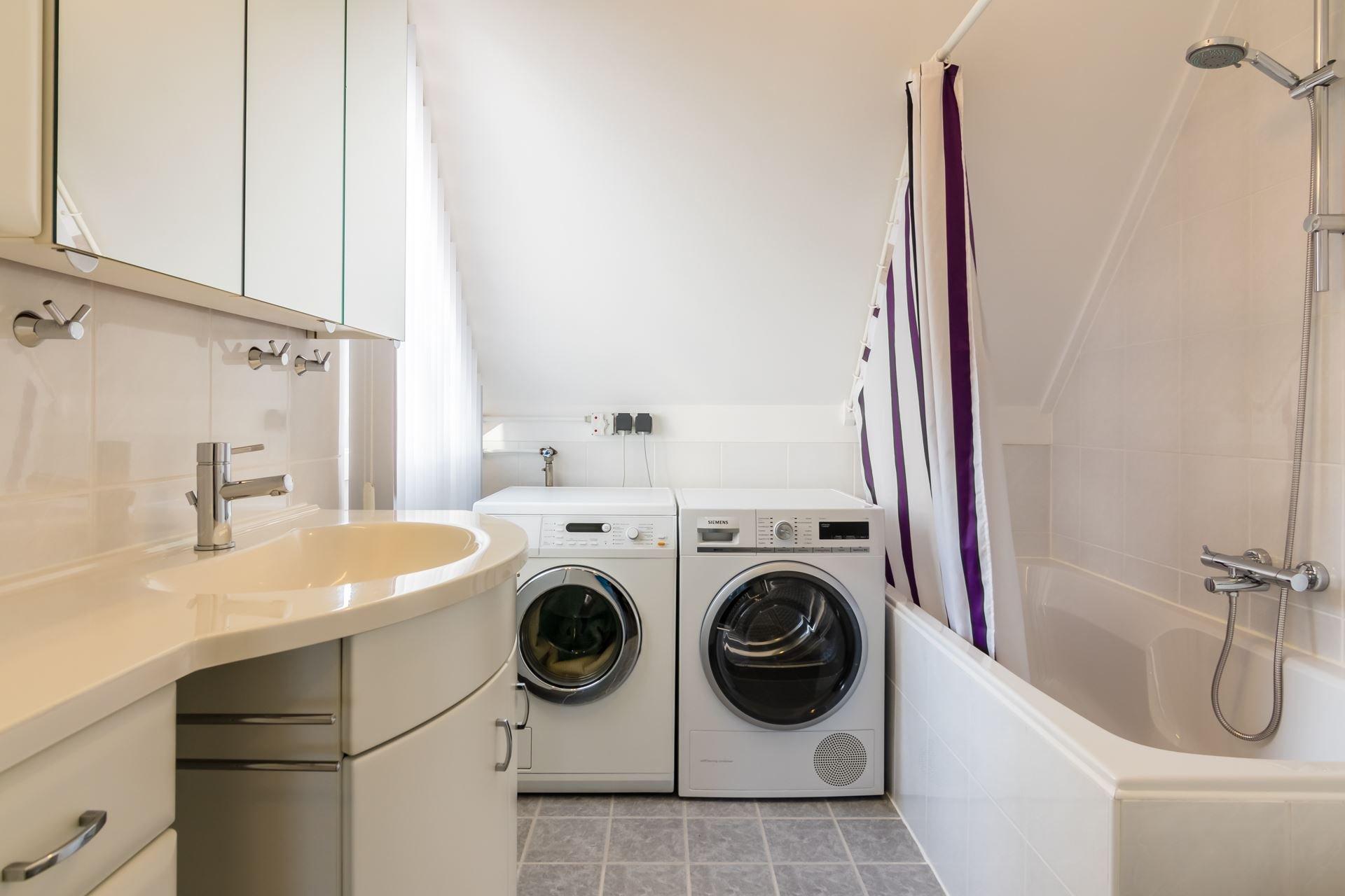 Badkamer + WC + nieuwe leidingen wasmachine en droger - Werkspot