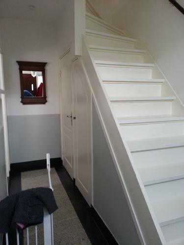 Verrassend 2 nieuwe jaren 30 paneeldeuren + trapleuning - Werkspot GR-38
