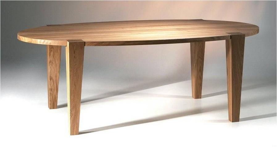 Ovale Tafel Hout : Ovale eettafel hout. laforma oqui eettafel xcm bruin with ovale