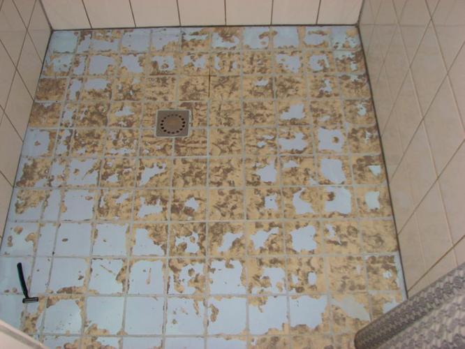 Tegelverf vloer bouwmaterialen for Egaline praxis