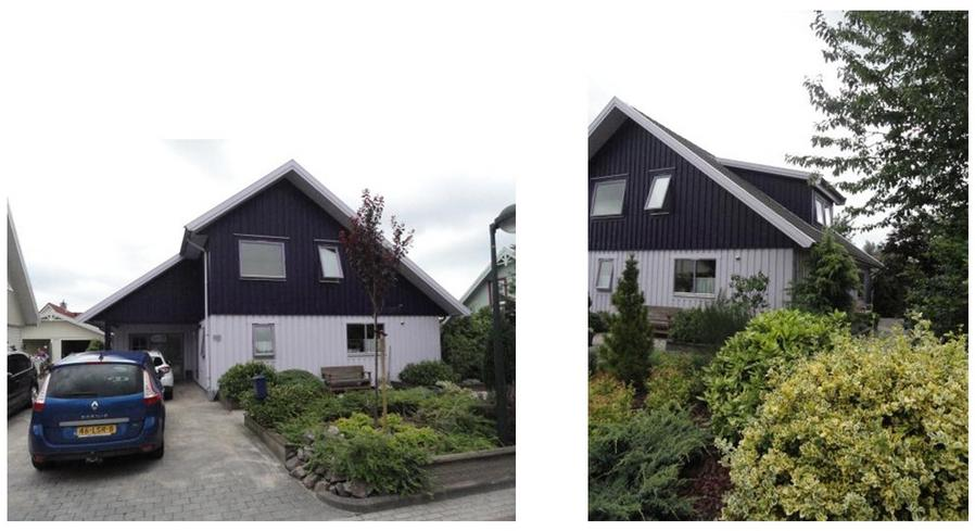 Het schilderen van de buitenkant van een zweedse woning for Woning schilderen