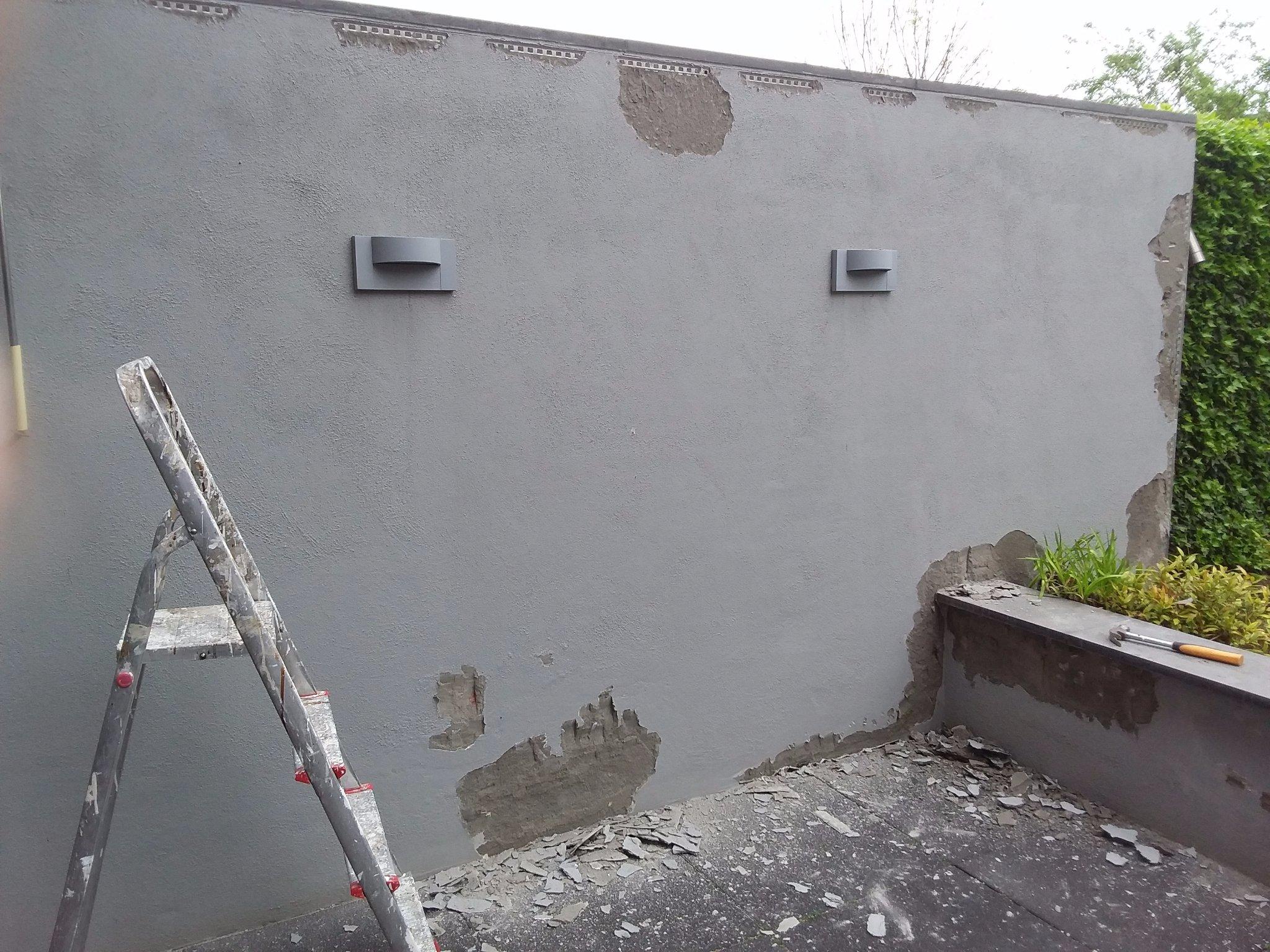 Vaak Stucwerk verwijderen tuinmuren - Werkspot QY43