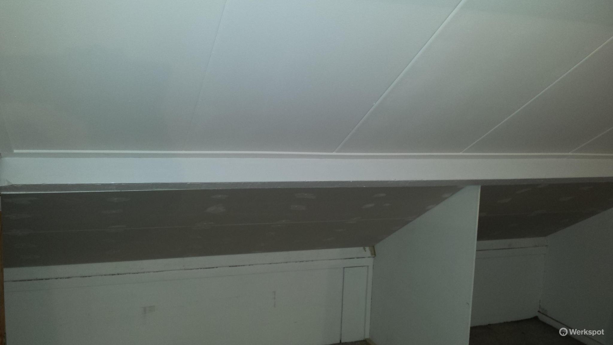 Populair Zachtboard plafonds verwijderen en nieuwe plafonds inbouwen - Werkspot ZK68