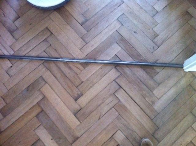 Visgraat vloer leggen werkspot