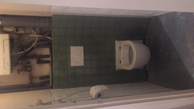 Aftimmeren Cv Ketel Boven Toilet Werkspot