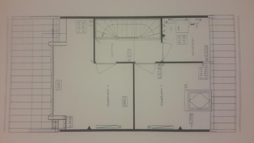 kamer indeling op verdiepingsvloer plus zolder maken