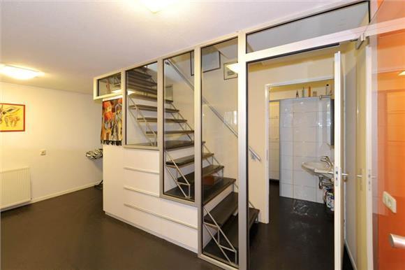 woonkamer muur (niet dragend) doorbreken, trap verwijderen en trap, Deco ideeën