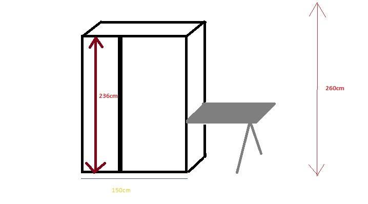 Ikea Pax Kasten Inbouwen Inbouwkasten 15m X 30m X 220m