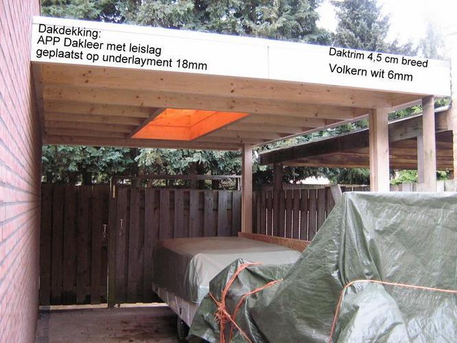Tekening + constructieberekening maken van bestaande carport tbv li ...