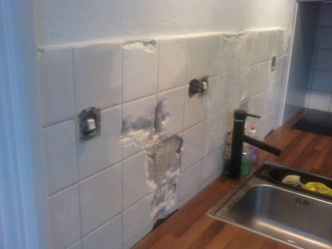 Voorkeur Wandtegels plaatsen boven aanrecht in de keuken - Werkspot @AB77