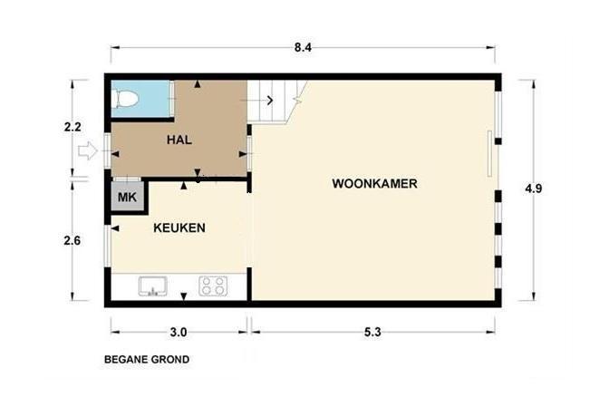 Stunning Plattegrond Woonkamer Contemporary - Huis & Interieur ...