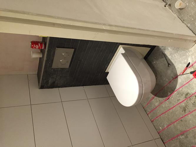Afkitten wc badkamer keuken en plinten beneden. werkspot