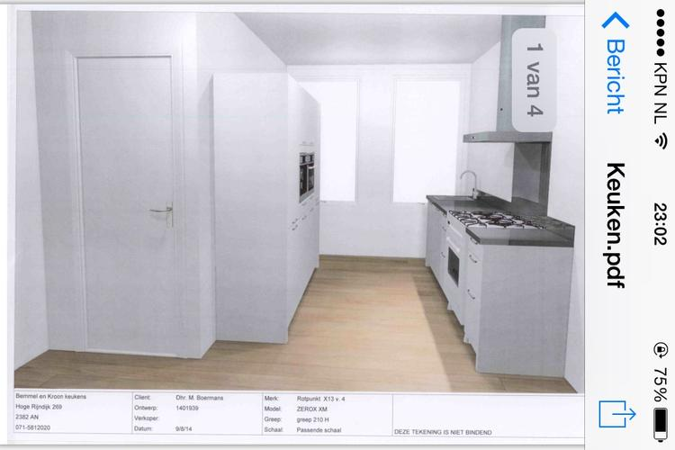 Nieuwe keuken plaatsen in nieuwbouwwoning werkspot for Ladeblok garage