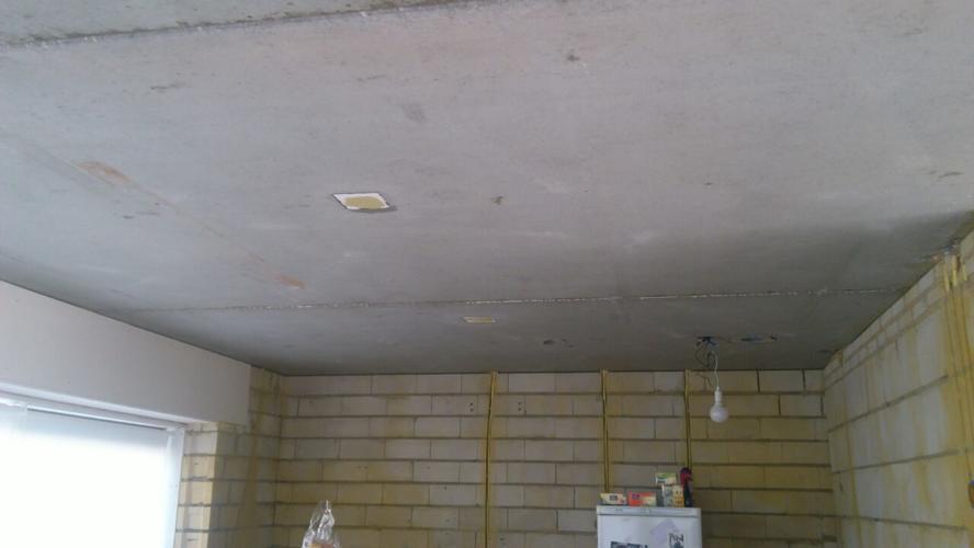 rachelwerk plaatsen op betonnen plafond nieuwbouw werkspot. Black Bedroom Furniture Sets. Home Design Ideas
